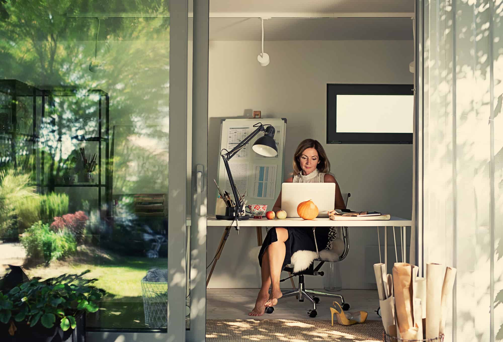 The Rise of the Garden Office